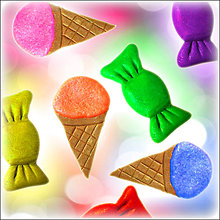 Materiál ručne robený - Dáš si sladkosť? - 4897315_
