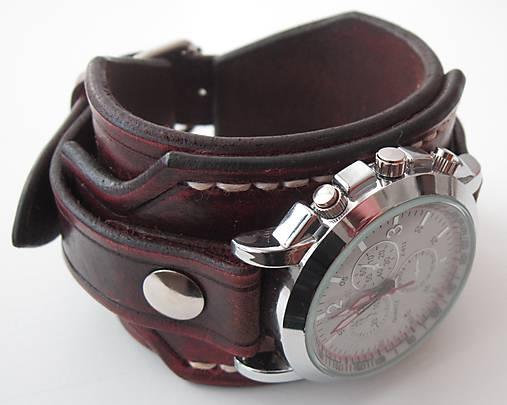 d6ca105b5 Vintage hodinky hnedé pánske / leon - SAShE.sk - Handmade Náramky