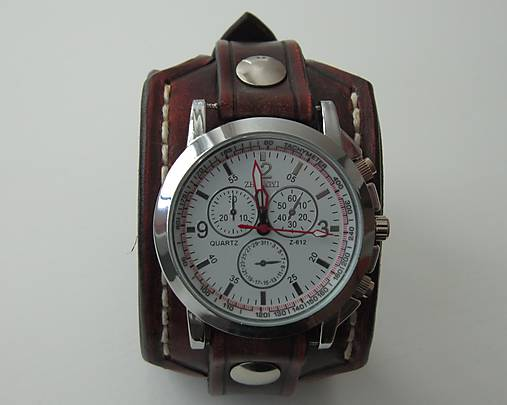 14bb86dd6 Vintage hodinky hnedé pánske / leon - SAShE.sk - Handmade Náramky