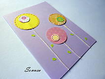 Papiernictvo - poľné kvety - 4899350_