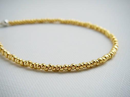 TINY jemné náramky zlaté   pjbijou - SAShE.sk - Handmade Náramky 785c6c0385f