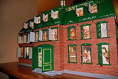 Dekorácie - Vintage Adventný kalendár - 4904517_