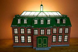 Dekorácie - Vintage Adventný kalendár - 4904512_