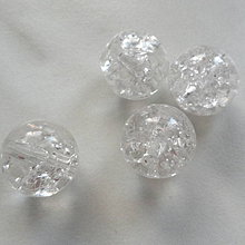 Korálky - KRAKL plast 12mm-priehľ-1ks - 4903708_