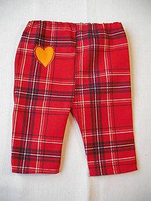 Detské oblečenie - Pierott II.- detské nohavice - 4904037_