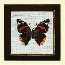Obrázky - Vyšívané motýle (3) - 4903912_