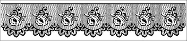 Pomôcky/Nástroje - Razítko, čipky a ruže, WTK138 - 4905923_