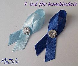 Pierka - svadobné pierka pre hostí modré - 4907748_