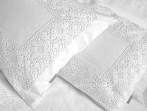 Úžitkový textil - Pos.bielizeň ADELA B set s maxi čipkou - 4908294_