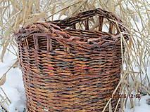 Košíky - Ebenový košík - 4910162_
