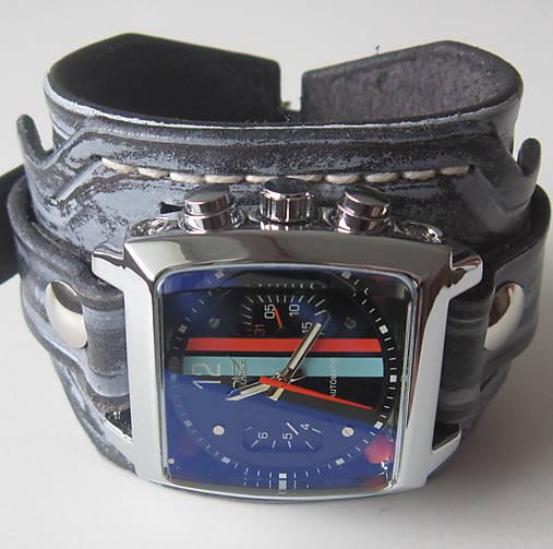 8c8e7f915d3 Retro pánske hodinky   leon - SAShE.sk - Handmade Náramky