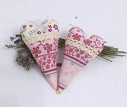 Dekorácie - ružové levanduľové - 4916309_