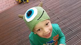 Čiapky - Ciapka monster - 4915140_