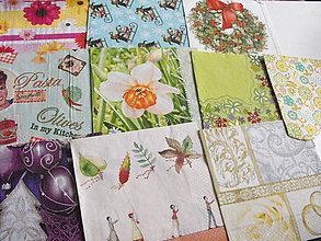 Papier - servítky sada 10 kusov 36 - 4919702_
