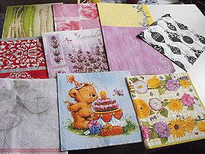 Papier - servítky sada 10 kusov 38 - 4919716_