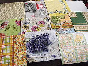 Papier - servítky sada 10 kusov 42 - 4919737_