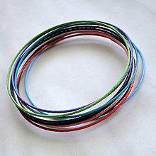 Komponenty - Náramky 7cm/1mm-MIX-10ks - 4921051_