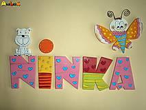 Nápis - Ninka