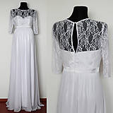 - Svadobné šaty pre budúce mamičky  - 4920488_