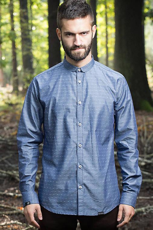1c79875ef352 Wren - pánska košeľa - zľava 30 %   pattern - SAShE.sk - Handmade ...