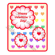 Papiernictvo - Farebná valentínka - 4919787_