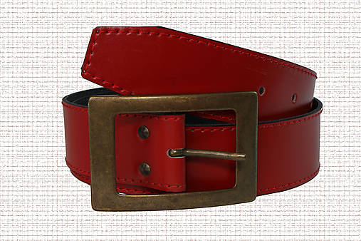 e124532dd Dámsky červený opasok / sagera - SAShE.sk - Handmade Opasky