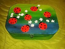 Krabičky - lienočková krabica - kufríková - 4922101_