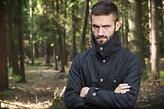 Oblečenie - Rust - pánsky vlnený kabát - 4921901_