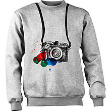 Oblečenie - mikina s foťákom - 4925352_