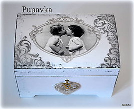 Prstene - Skrinka na kľúčik - 4924536_