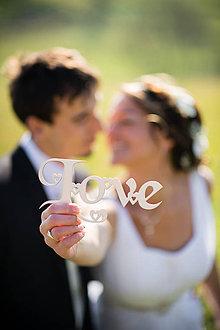 Tabuľky - LOVE, srdiečkové - 4931232_
