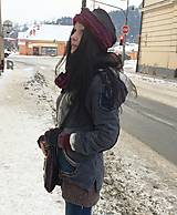 homeless -čiapka,nákrčník a rukavice