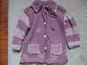 Detské oblečenie - tenký svetrík - 4929313_