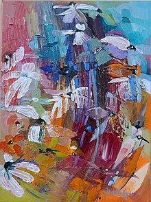 Obrazy - Kvety v záhrade 3 - 4928923_