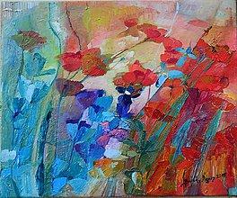 Obrazy - Makové kvetinky 1 - 4929001_