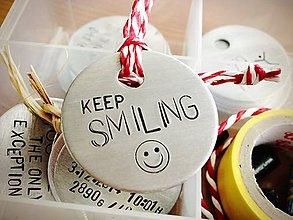 Kľúčenky - :) KEEP SMILING - 4932049_