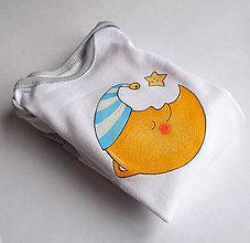 Detské oblečenie - Body mesiačik - 4931849_