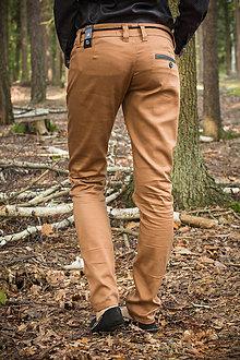 Nohavice - Mare - dámske plátěné nohavice - 4933852_