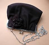 Kabelky - tylová s brošňou - 4932703_