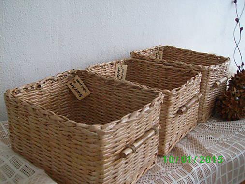 339d1f19c Košíky na drobnosti,aj do skrine / SuzyArt - SAShE.sk - Handmade Košíky