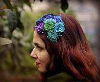 Ozdoby do vlasov - Modré ríbezle - 4937523_