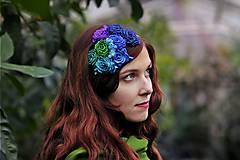 Ozdoby do vlasov - Modré ríbezle - 4937542_