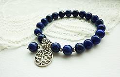 Náramky - Náramok Lapis Lazuli: kameň pokoja... - 4935618_