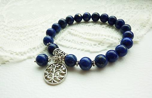 Náramok Lapis Lazuli: kameň pokoja...