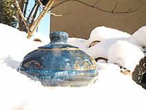 Nádoby - Dóza modrá
