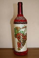 Nádoby - Fľaša na červené víno - 4938099_
