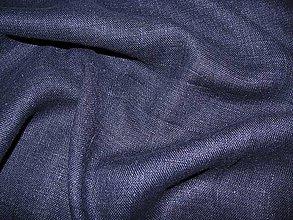 Textil - Ľan modrý - 4935405_