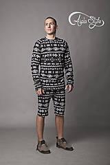 Nohavice - Čičmany - termo oblečenie - 4937465_