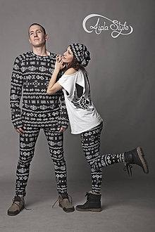 Nohavice - Čičmany - termo oblečenie - 4937464_