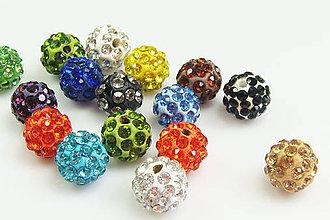 Korálky - Disco gulôčky 10mm (balíček 45ks) - 4938324_